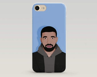 Drake IPhone Case, Drake Phone Case, Iphone 6 Case, Iphone 7 Case, Iphone Case, Case Iphone, Popculture, Gift for teenager, Gifts Drake Fan