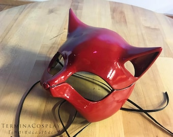 Masque de chat Cosplay Ann Takamaki panthère de Persona 5