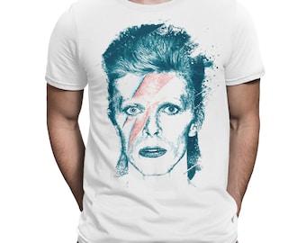 David Bowie Ziggy Stardust T-Shirt, Men's Women's All Sizes