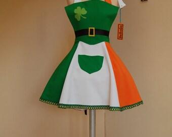 Leprechaun apron,St Patrick's Day collection.