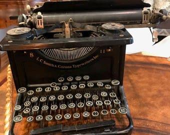 Vintage LC Smith & Corona Typewriter LLC 8-11
