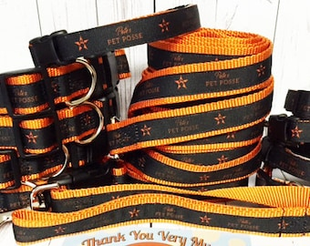 Pete's Pet Posse Custom Dog Collar