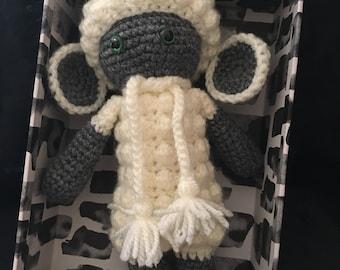Amigurumi crochet toy sheep
