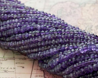 Purple Amethyst Bead Strands 30ct (B01)