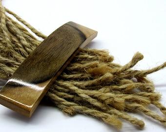 Rustic barrette Long hair wood Wooden hair clip French barrette wood Women barrette Hair accessory Hair clip Wooden jewelry Wood barrette