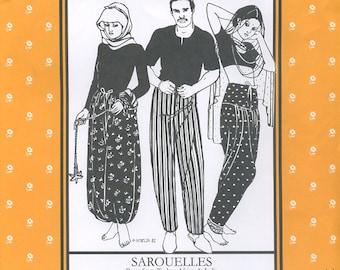 Sarouelles, Pattern 119