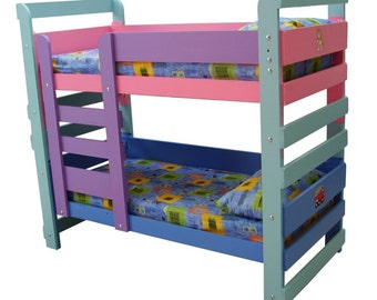 Woodworking plans for a set of Kids Bunk Beds | PDF downloadable file