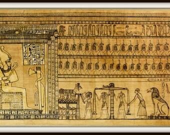 Art Print Egypt Book of the Dead 1700 BC - Print