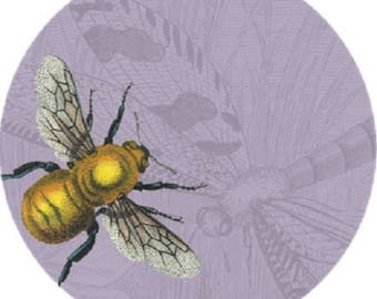 Bumblebee- Insecta 10 inch Decorative Melamine Plate