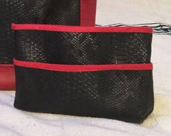 Faux komodo bag Organizer