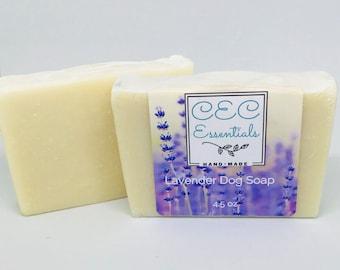 Lavender Dog Soap
