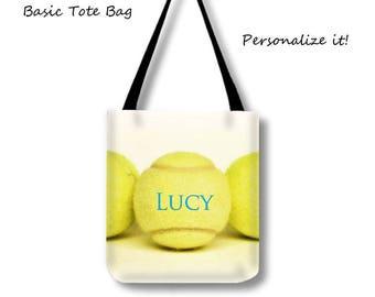 Customized Tennis Tote Bag-Weekender Bag-Tennis Tote-Custom Sports Bag-Messenger Tote Bag-Personalized Tennis Bag-Cross Body Tote-Coach Gift