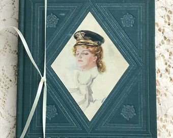 "Antique Book ""The Flyers"" by George Barr McCutcheon, Published 1907, Art Nouveau Era"