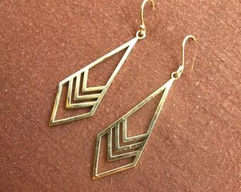 Earrings - arrow