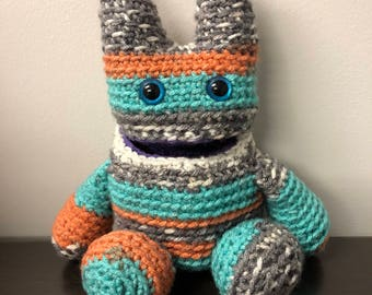 Crochet Monster with Hollow Belly