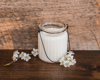 Cotton Tree 100% Soy Wax Candle