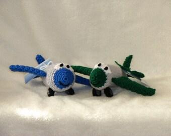 Aaron Airplane - Very Cute Crocheted Character