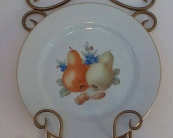 EASTER SALE~Set of two Bavarian Germany Porcelain plates