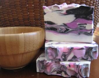 Pure Seduction Soap, All Natural Soap, Handmade Soap, Bath Soap, Cold process Soap, Artisan Soap, Victoria Secret Soap, Bar Soap, Hand Soap