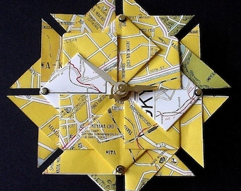 Fathers Day - Tokyo Street Map Clock-Large