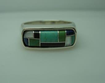 Ladies-Santa-Fe-type-Silver-ring