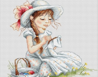 Cross Stitch Kit Embroidery Luca-s Anchor threads