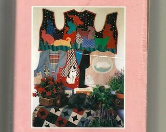 """Color Me Patterns """" Color Me Cat's Vest """" Pattern 107"""