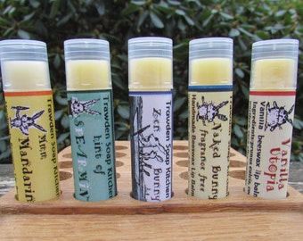 Cute beeswax lip balms, organic equal exchange honey, all natural ingredients,  girly gift , trawden, lancashire,uk