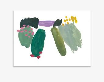 Monet's Garden 12, print on fine art paper