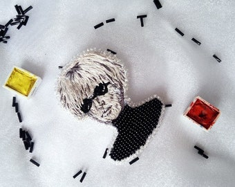 Brooch Andy Warhol