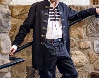 Sir Samuel Jacket medieval clothing for men LARP costume and cosplay