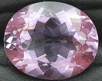 12x10 oval amethyst gem stone gemstone faceted natural