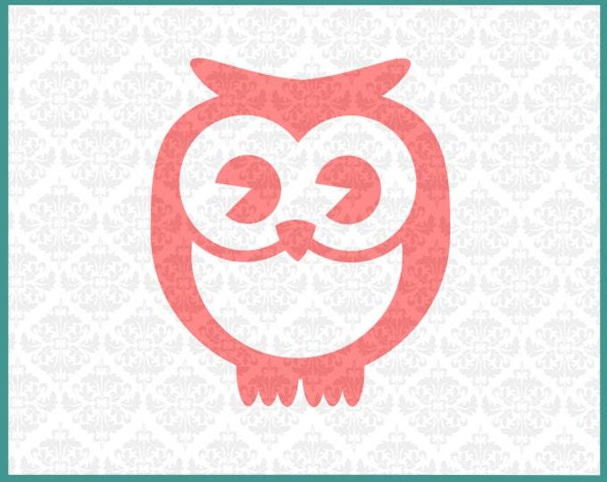 Owl svg, Owl svgs, Simple Owl svg, Owl shirt svg,owl cricut files, owl svg files, owl silhouette files, owls svg, Cricut, silhouette, file