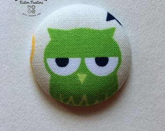 Animals Magnetic Needle Minders Assorted - Ready to Ship Owls, Panda, Hedgehog