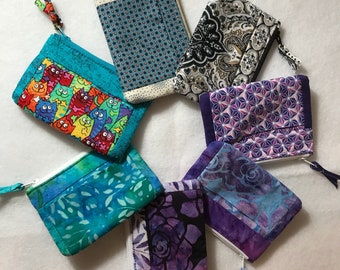 Fabric Wallet or Coin Purse