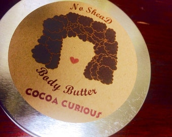 Cocoa Curious No SheaD Body Butter
