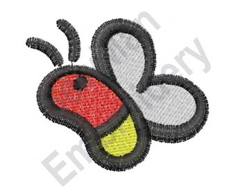 Insect - Machine Embroidery Design, Lightning Bug