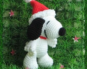 Snoopy 5 inches - PDF amigurumi crochet pattern