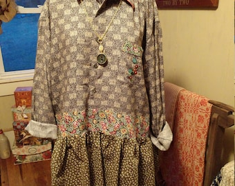 Altered Top by Wineberry, Etc.