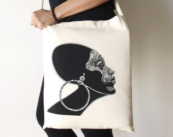Original tote bag, Natural tote bag, Canvas tote bag, Woman tote bag, Screen printing tote bag, Tote bag, Shopping tote bag, Messenger bag