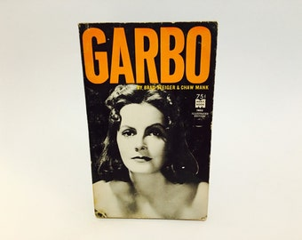 Vintage Pop Culture Book Garbo by Brad Steiger & Chaw Mank Waterbury 1964 Paperback