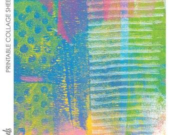 Digital Collage Sheet Printable No. 52