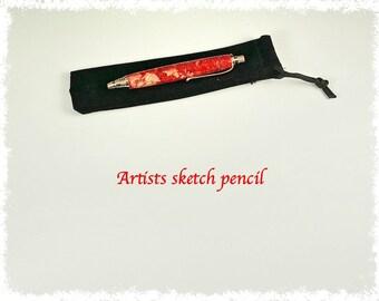 Artists or workshop sketch pencil.