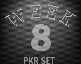 Week  8 Peeker Set