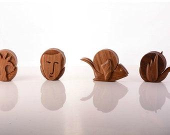 coffee cup lid Wooden lid