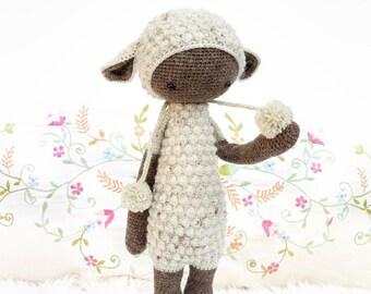 Custom made Laylala Dirk the Dragon, baby, Stuffed animal, Cotton