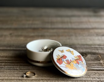 Ring Box / Ring Dish / Jewelry Box / Japanese Trinket Box