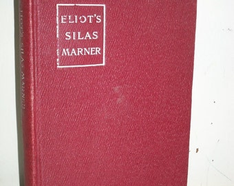 "Antique 1904 ""Silas Marner"" by George Eliot ~ Mini Macmillan HC Book"
