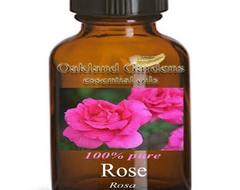 ROSE ABSOLUTE Essential Oil - 100% PURE Essential Oil - Very rich, deep, sweet-floral, slightly spicy. must ingredient in perfumes