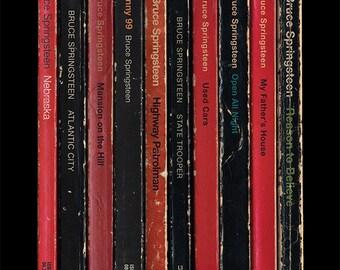 Bruce Springsteen 'Nebraska' Poster Print Album As Penguin Books Literary Print
